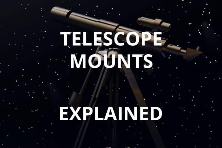 telescope mounts explained